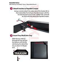 Tool tray install steps