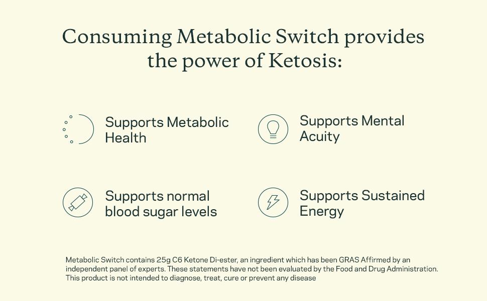 Benefits Ketosis metabolic health