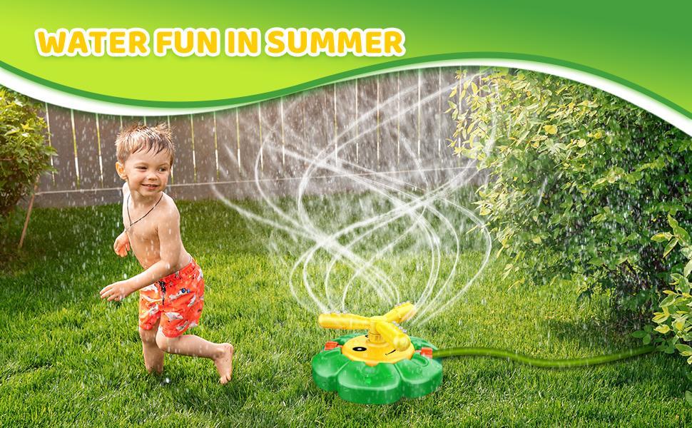 water fun sprinkler for kids