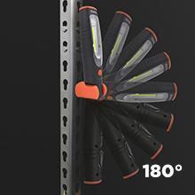 tactical auto fakkel zaklantaarn camping tent campinglamp lamp LED op accu batterijen oplaadbaar LED