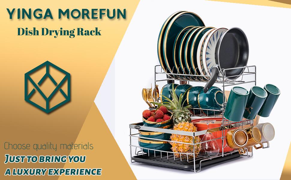 dish drying rack dish rack dish drainer dish racks for kitchen counter