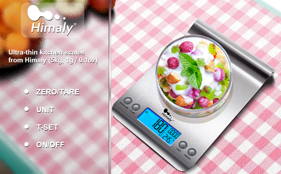 himaly kitchen scale