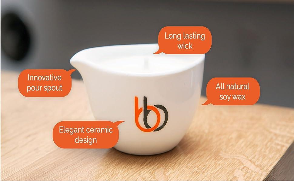 Innovative pour spout and elegant design