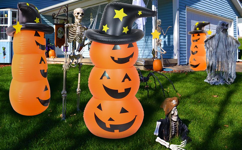 Inflatable Pumpkin Tumbler