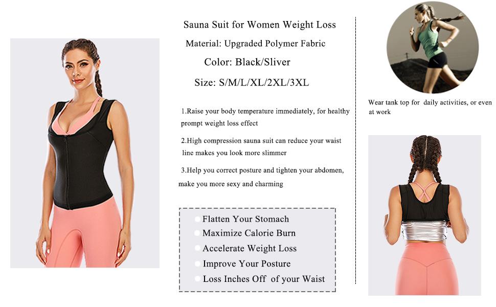 women sauna suit
