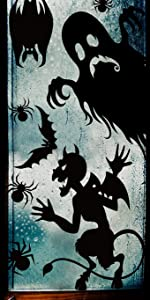 Halloween Giant Window Clings