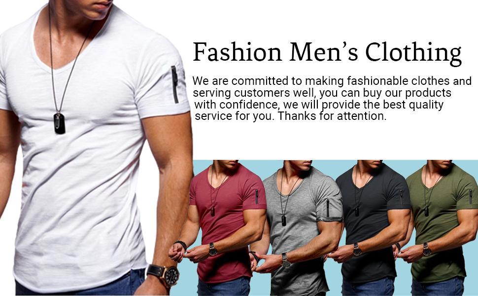 mens fashion t -shirt