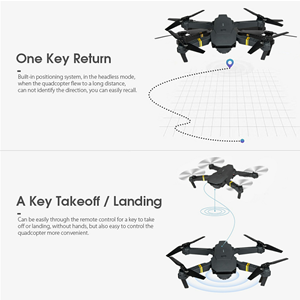 Pro Camera Drone for Beginners 4K