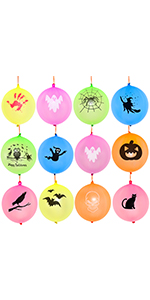 12 Inches Halloween Punch Balloons