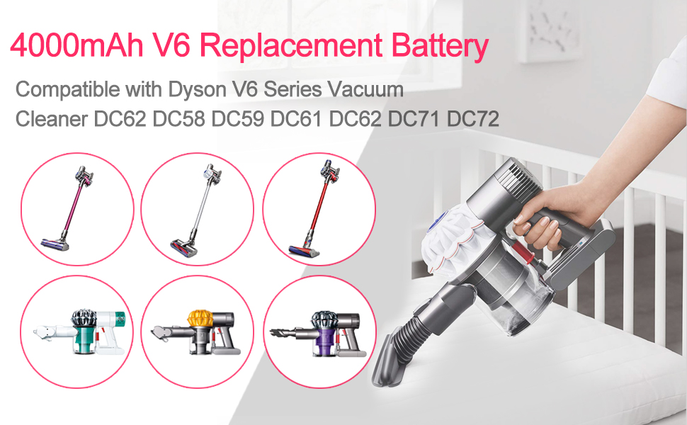 DC58 Replacement Battery