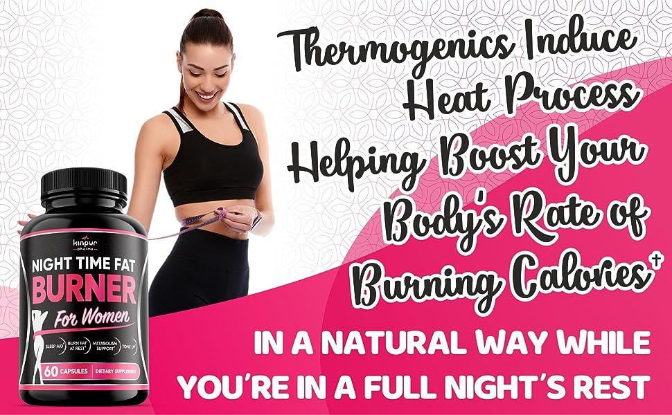 Night Time Fat Burner for Women