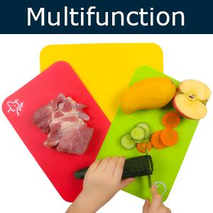 multifunction cutting board mats set