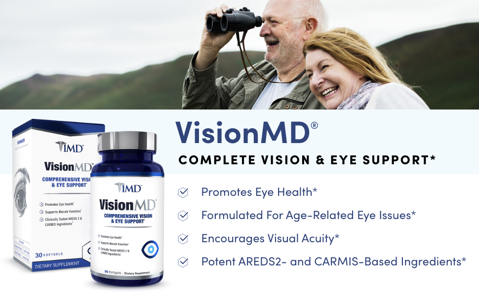 complete vision and eye support, promoted eye health, for age related eye issues