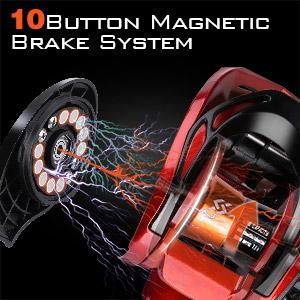 10 button magnetic brake