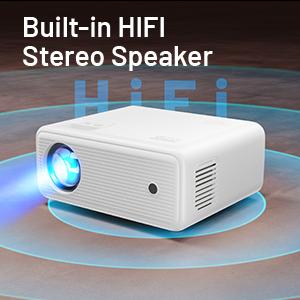 Built-in HIFI Stereo Speaker
