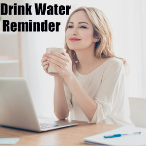 Drink water reminder and Female Health Care
