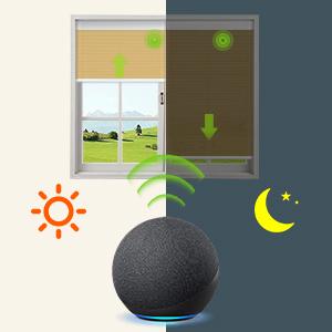 motorized window shade cellular