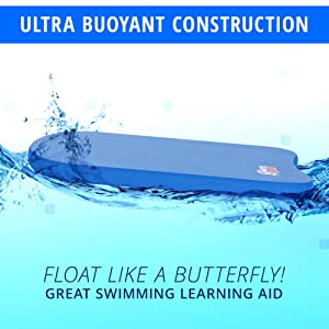 ultra buoyant swimming kickboard boogie board water pool sunlite sports learning equipment