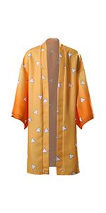 Agatsuma Zenitsu cosplay kimono costume