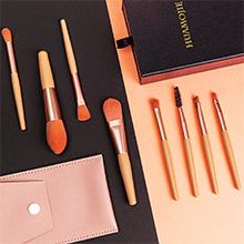 Pink Makeup Brushes
