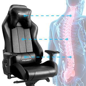 Ergonomic Headrestamp;amp;amp;Lumbar Support