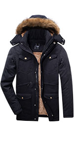 Dream blue warm jacket for menamp;amp;#39;s ,in 9 pocket