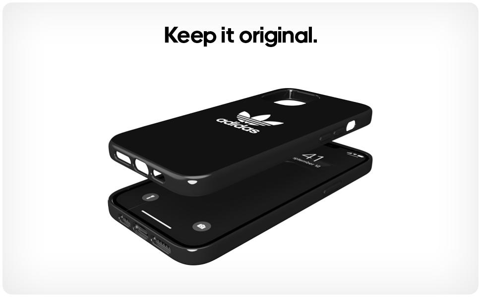 Adidas Original Glossy Case Black