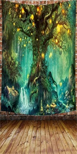 Forest Fairy Tales Tapestry