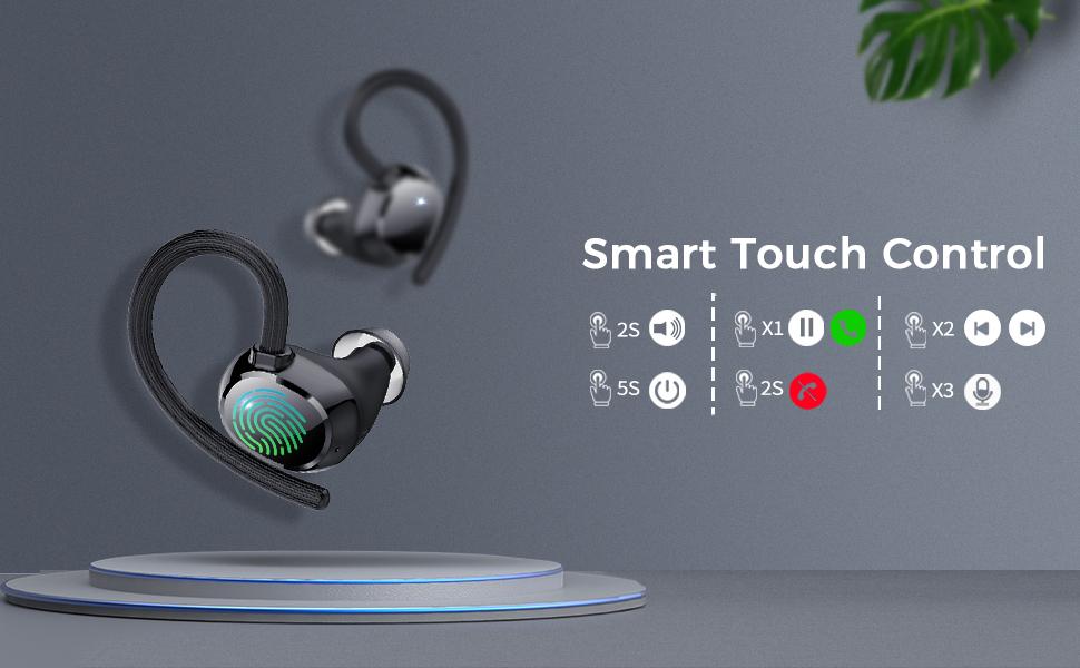Bluetooth earbuds sport