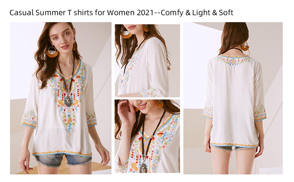 AK  boho blouse for women