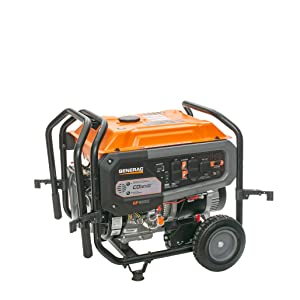 Self attaching clamp system connects to your generator's frame - keeping your generator portable!