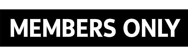 Members Only Windbreaker- LOGO