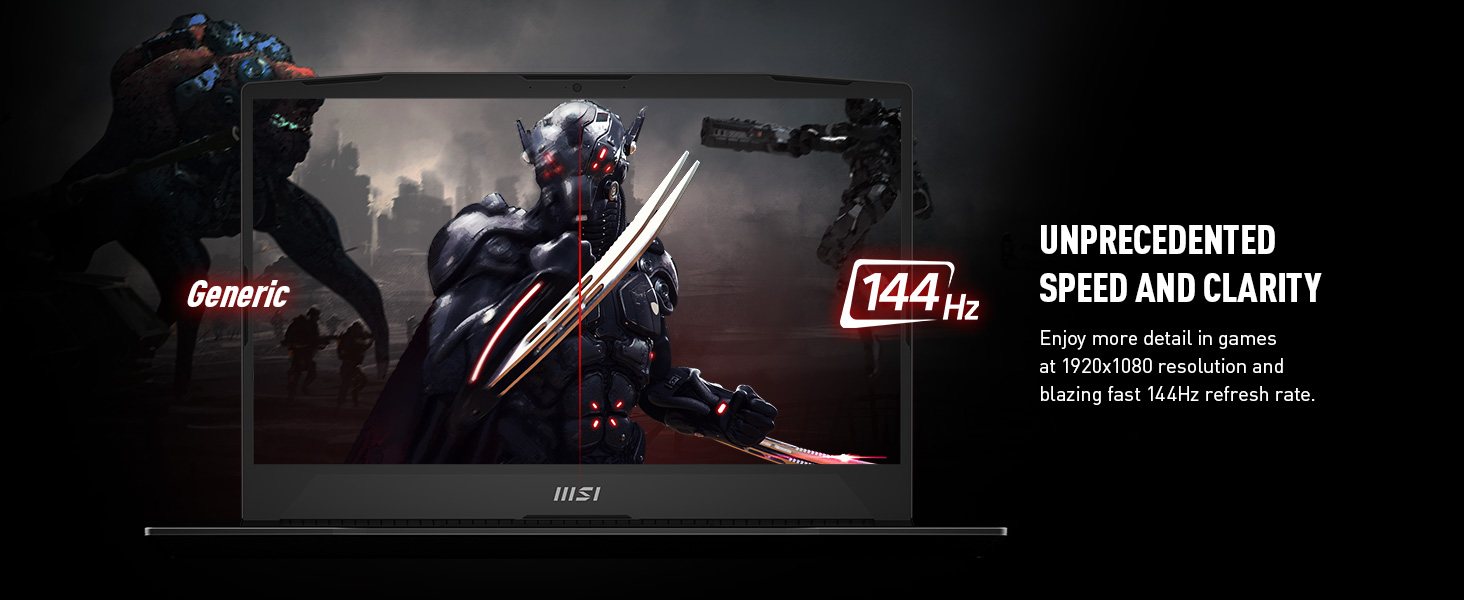 144Hz 1080p fast response high refresh rate competitive esports