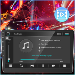 bluetooth music stereo car for screen