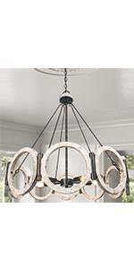 farmhouse chandelier lighting