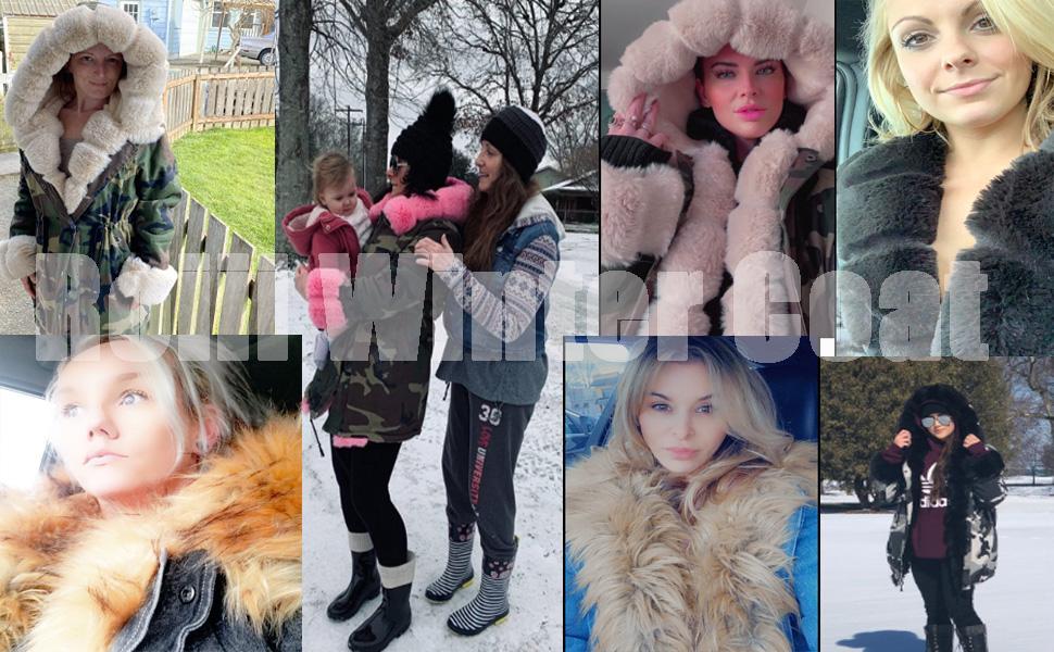 Roiii Winter Coats