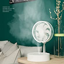 fan with humidifier