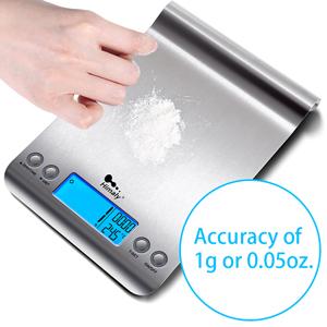 Precisión de medición 1g