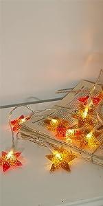 LED Star String Lights