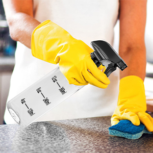 spray bottles for cleaning solutions