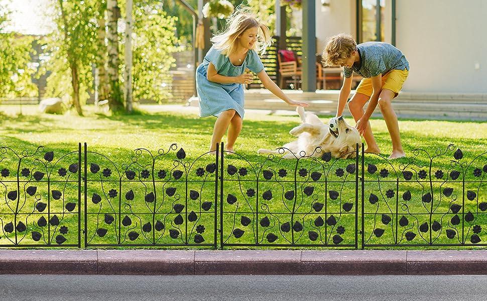 garden lawn fencing