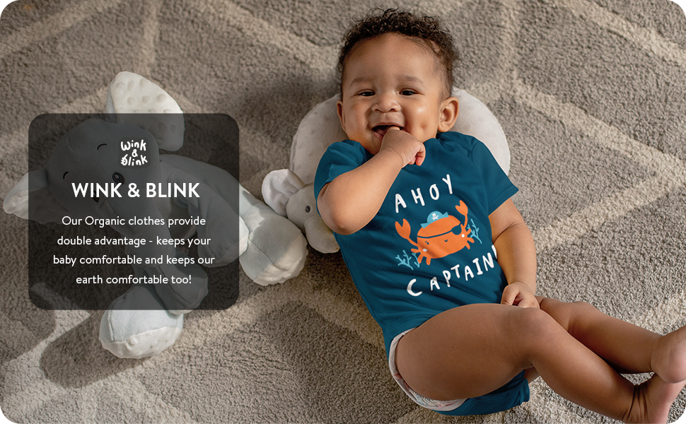 wink and blink organic baby wear
