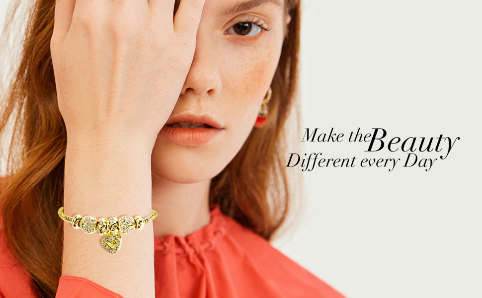 14K Gold/Platinum Plated Bracelets for Women