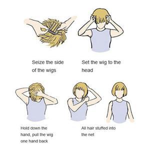 boys girls wig