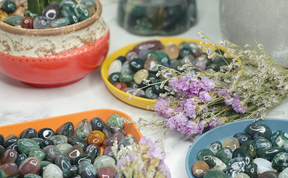 pebbles for plant