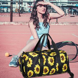 Sunflower Gym Bag