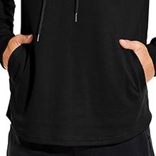 Babioboa Hoodies for Men Long Sleeve Hipster Sweatshirts Lightweight Active Pullover