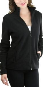 zip up polar fleece jackets and vests
