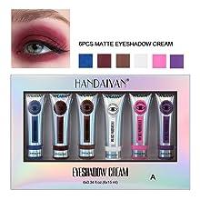 6pcs matte eyeshadow cream