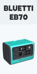 BLUETTI Portable Power Station EB70